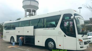 Thuê xe du lịch Hyundai Universe 45 chỗ