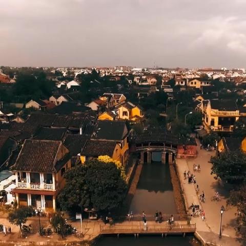 Tour Chùa Linh Ứng, Ngũ Hành Sơn, Hội An buổi chiều