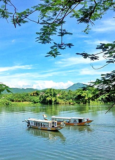 Cảnh đẹp của cố đô Huế