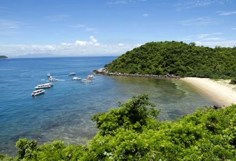 Cảnh đẹp đảo Cù Lao Chàm