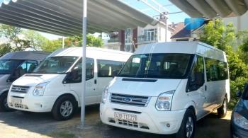 Thuê xe du lịch 16 chỗ, thuê xe ford transit
